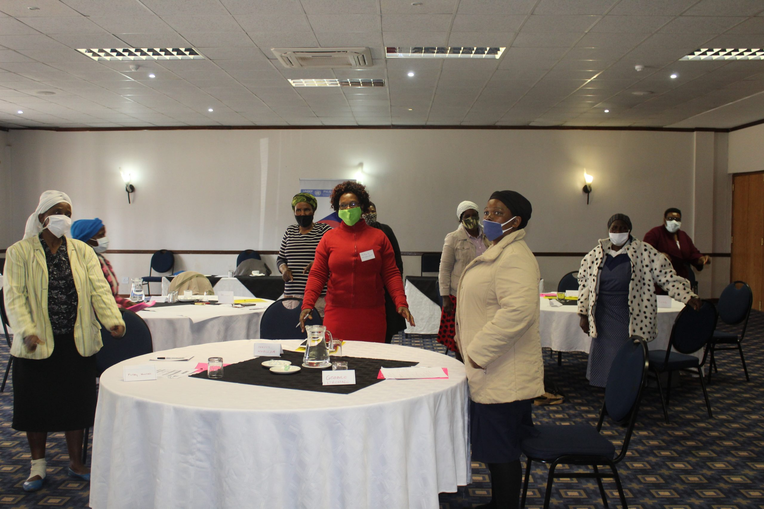 "Training of Paralegals under the UNDEF Project titled ""Enhancing Women's Political Participation in Eswatini"" 22nd June 2020"